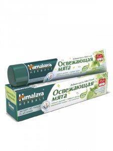 Зубная паста Mint Fresh «Освежающая мята», 75 мл, Himalaya Herbals фото