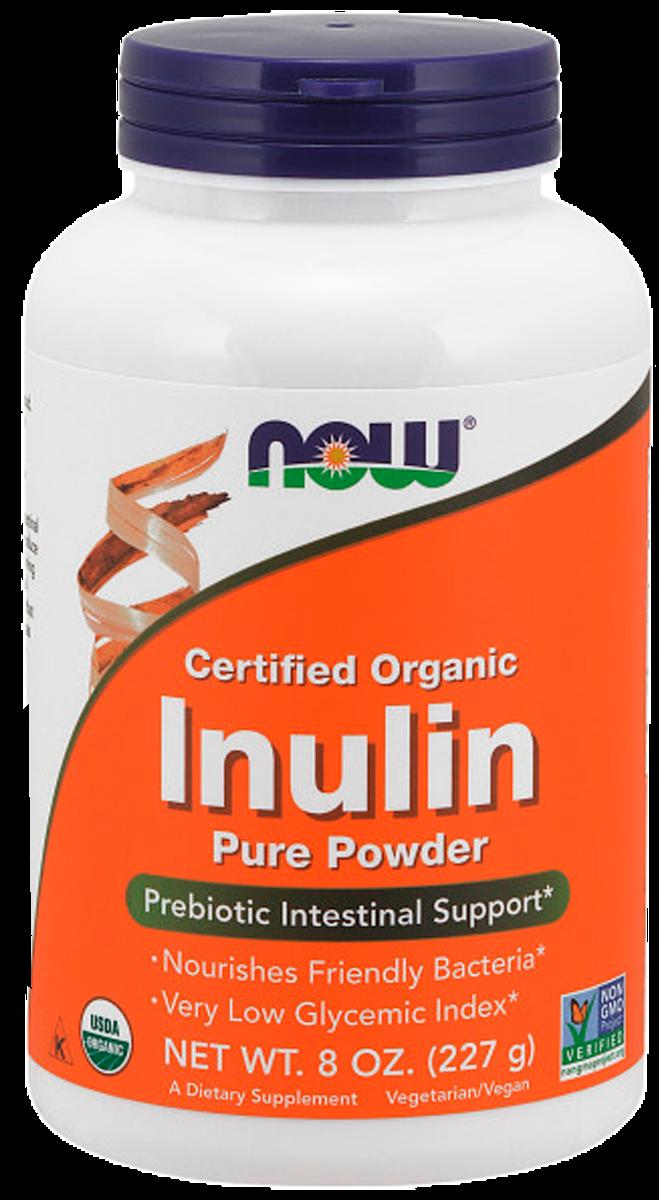 Инулин-пребиотик, 227 гр, NOW