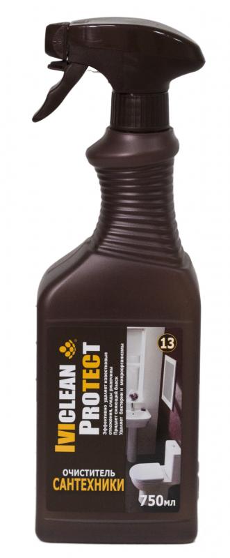 Антибактериальный очиститель сантехники, 0,75л, Ивиклин фото