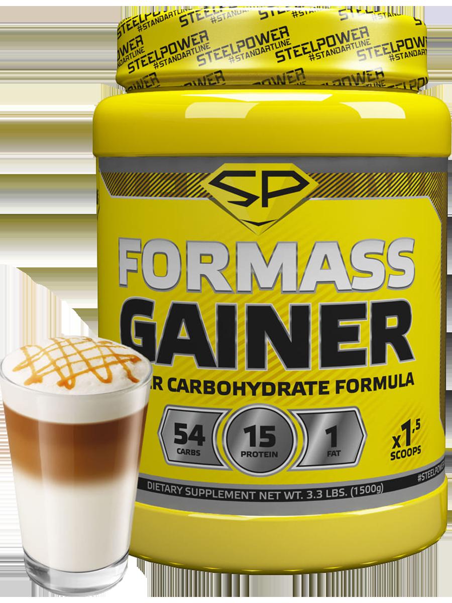Гейнер FORMASS GAINER, 1500 гр, вкус «Кофе