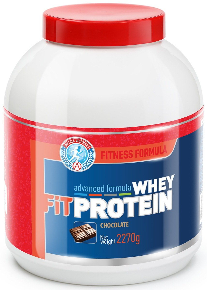 Сывороточный протеин FitPROTEIN, вкус шоколад, 2270 гр, Академия-Т фото