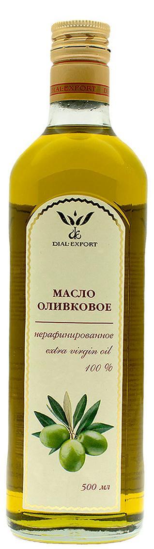Масло оливковое Extra Virgin, 0,5 л, DIAL-EXPORT фото