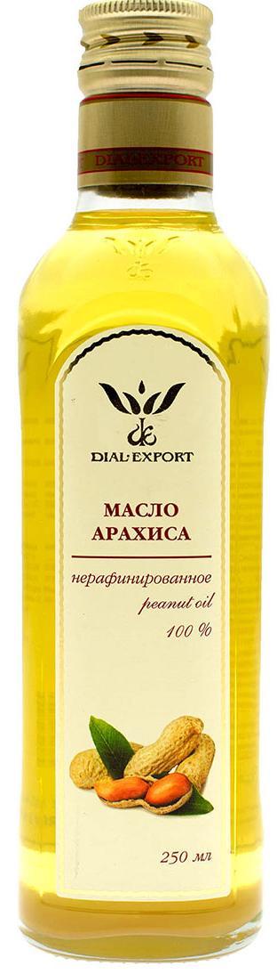 Масло арахиса 0,25 л, DIAL-EXPORT фото