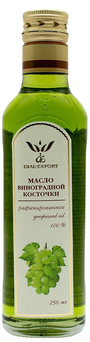 Масло виноградной косточки, 0,25 л, DIAL-EXPORT фото