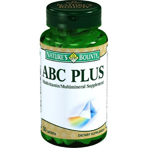 Мультивитаминный комплекс АВС Плюс, 50 таблеток,  Natures Bounty