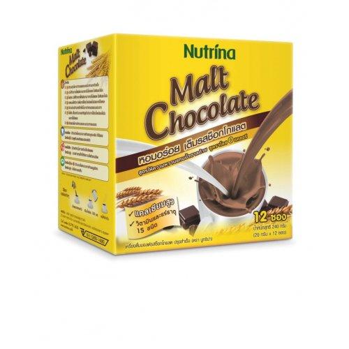 Напиток растворимый Instant Malt Chocolate, 12 саше по 20 гр, Nutrina фото