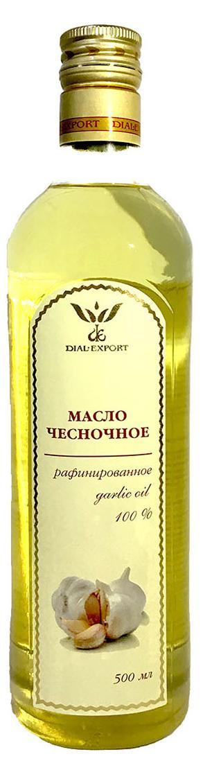 Масло чесночное, 0,5 л, DIAL-EXPORT