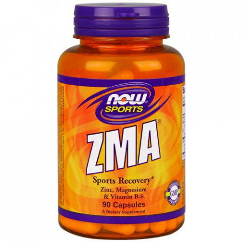 ZMA,1082 мг, 90 капсул, NOW