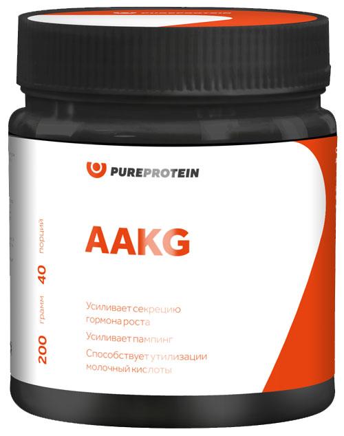 AAKG, яблоко, 200 гр, PureProtein фото