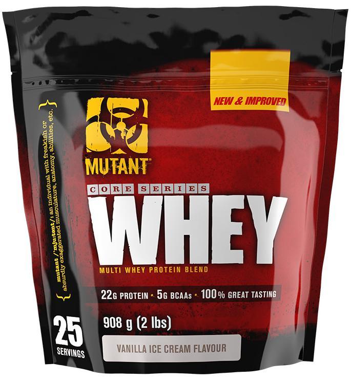 Протеин Whey, вкус ваниль, 910 гр, Mutant