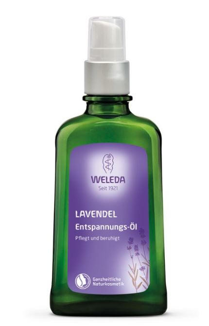 Лавандовое расслабляющее масло для тела, 100 мл, Weleda фото