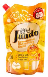 Jundo: Антибактериальное концентрированный гель с гиалуроновой кислотой для мытья посуды и детских принадлежностей Juicy Lemon, 800 мл, Jundo - купить за 186 руб. в интернет-магазине Фитомаркет