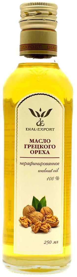 Масло грецкого ореха, 0,25 л, DIAL-EXPORT фото