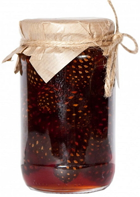 Варенье из молодой кедровой шишки 440 гр, Таёжный Тайник фото
