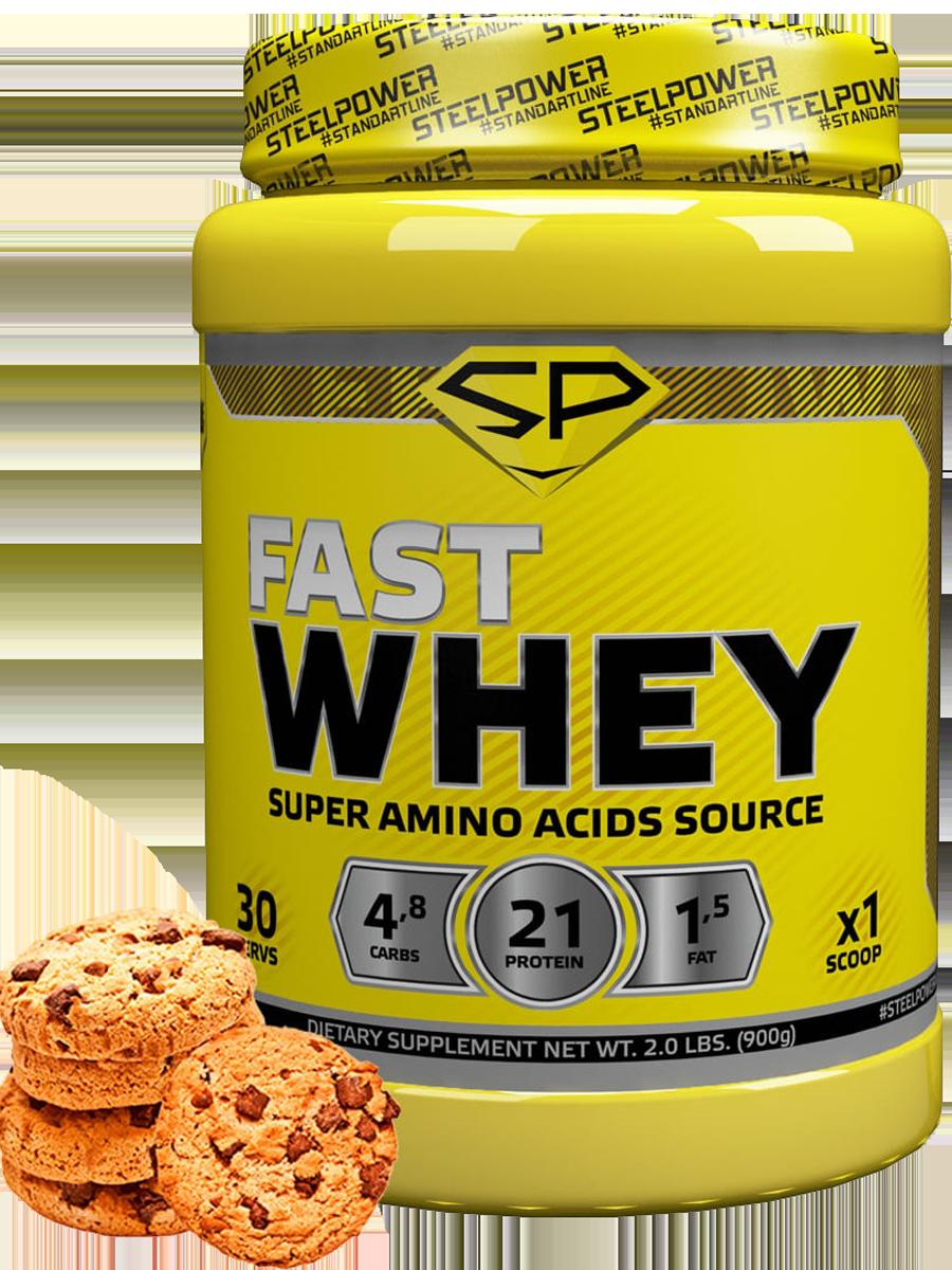 Сывороточный протеин FAST WHEY, 900 гр, вкус