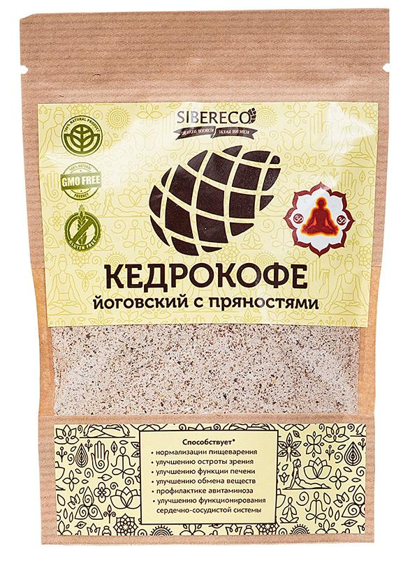 Кедрокофе Йоговский с пряностями, 90 гр, СИБЕРЕКО фото