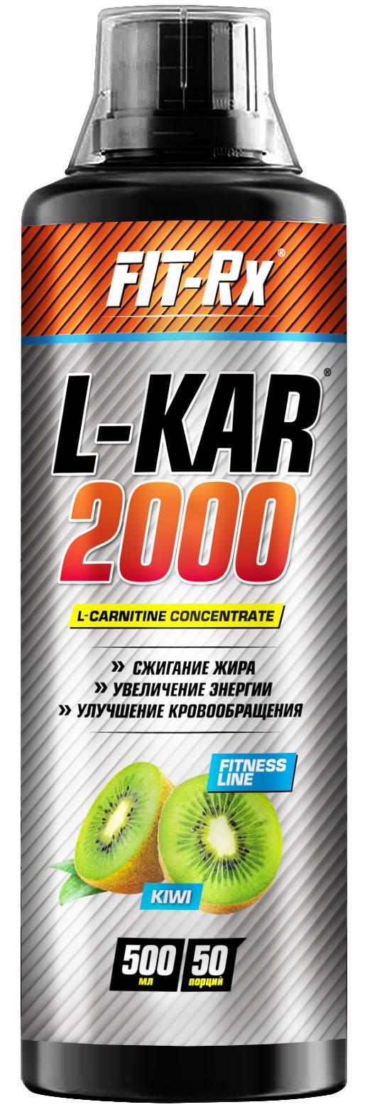L-Kar 2000, вкус киви, 500 мл, Fit-Rx фото