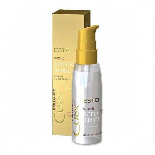 Флюид-блеск с термозащитой для всех типов волос, 100 мл, ESTEL CUREX BRILLIANCE фото