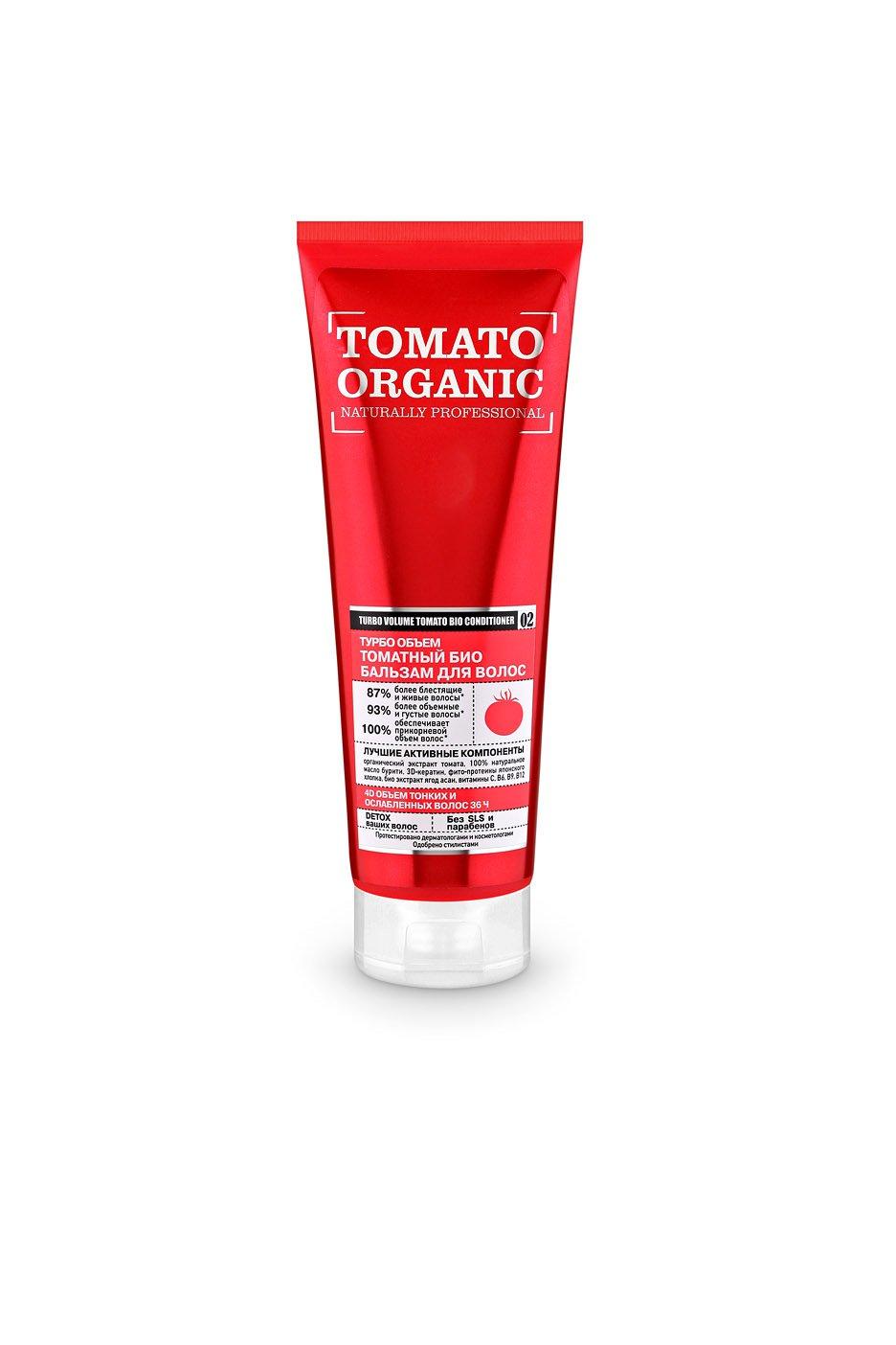Купить со скидкой Бальзам для волос «Турбо объем томатный»,  250 мл, Organic naturally professional