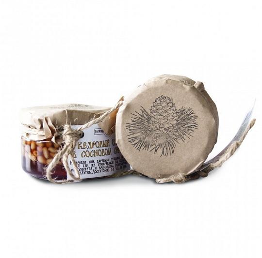 Кедровый орех в сосновом сиропе, 120 гр, Таёжный Тайник фото