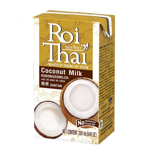 Кокосовое молоко, 250 мл, ROI THAI фото