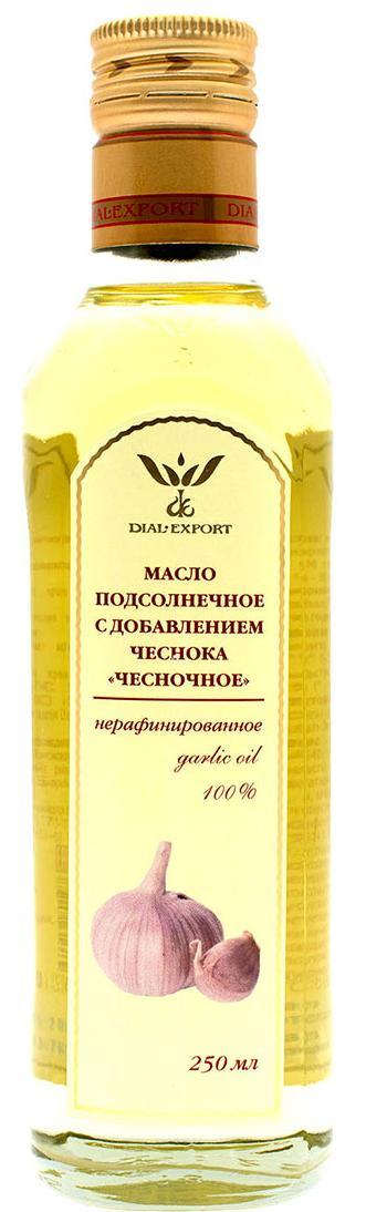 Масло чесночное, 0,25 л, DIAL-EXPORT