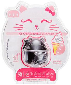 Очищающее средство Ice-cream Bubble «Бамбуковый уголь», 1 шт, ECONEKO фото