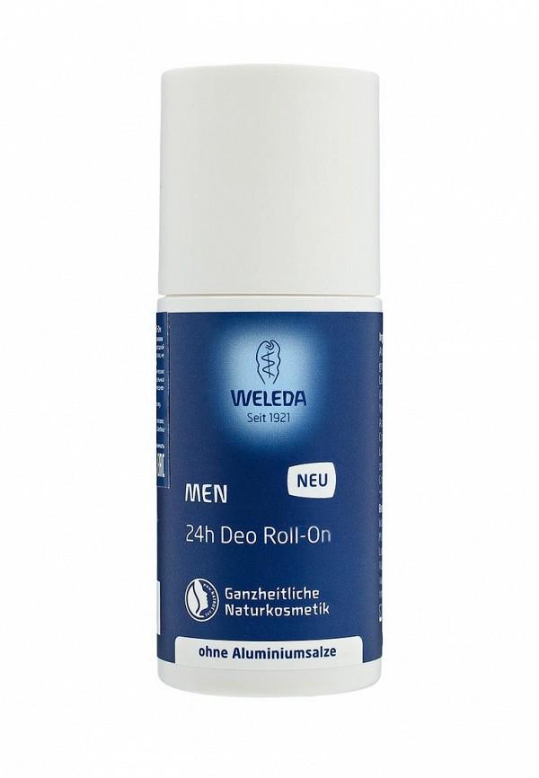 Роликовый дезодорант 24 часа Мужской, без солей алюминия, 50 мл, Weleda