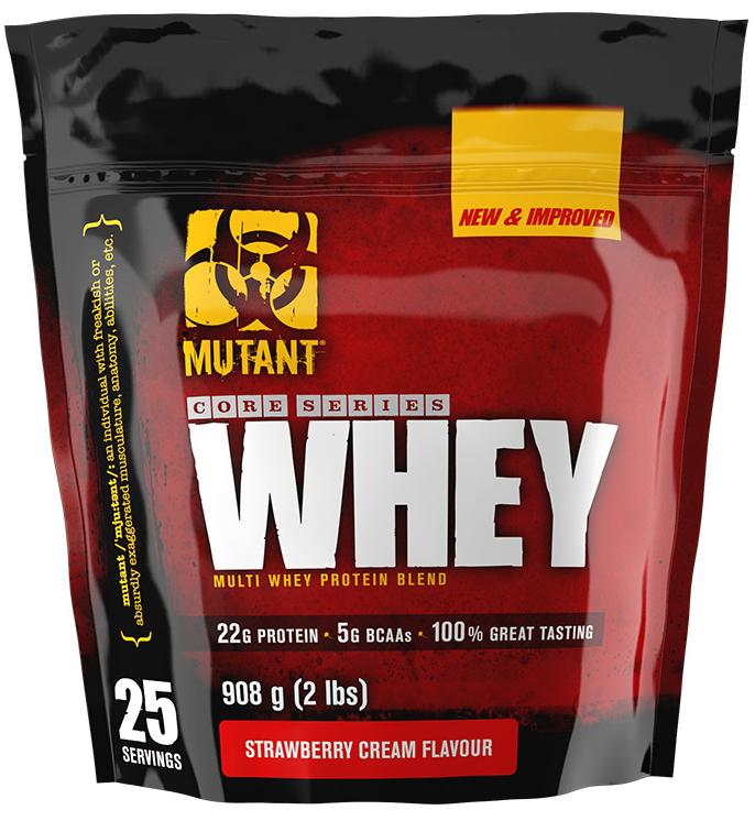 Протеин Whey, вкус клубника, Mutant