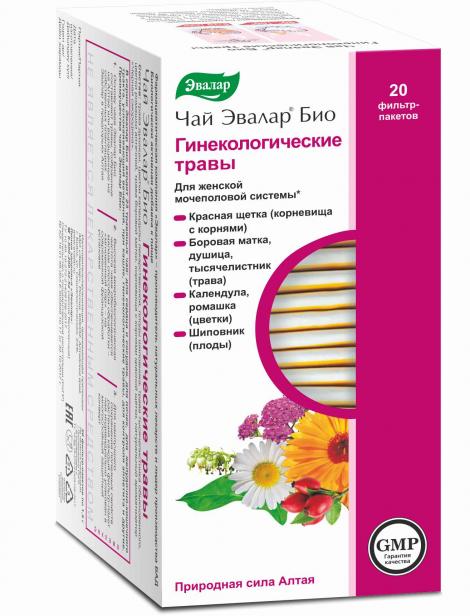 чай эвалар гинекологические травы