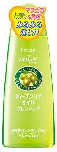 Жидкость для удаления макияжа и очистки  пор, Naive, 170 мл, KRACIE
