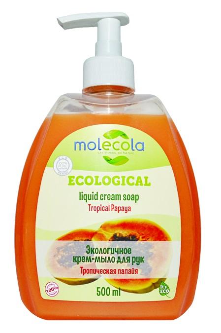 Экологичное концентрированное средство для мытья посуды «Мексиканская папайя», 500 мл, Molecola фото