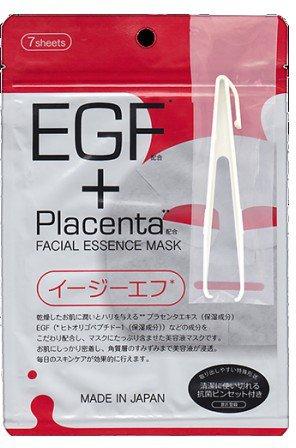 Маска с плацентой и EGF фактором, Placenta +, 7 шт, JAPAN GALS фото