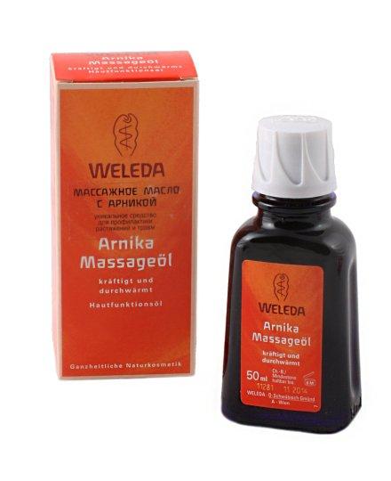 Массажное масло с арникой, 50 мл, Weleda фото