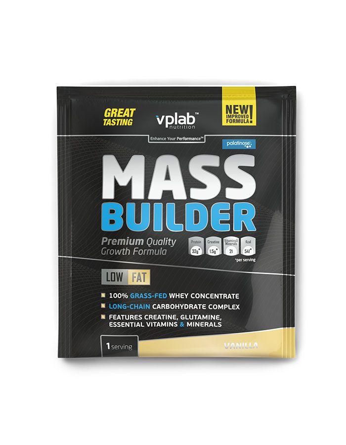 Гейнер Mass Builder, вкус «Ваниль», саше 100 гр, VPLab фото