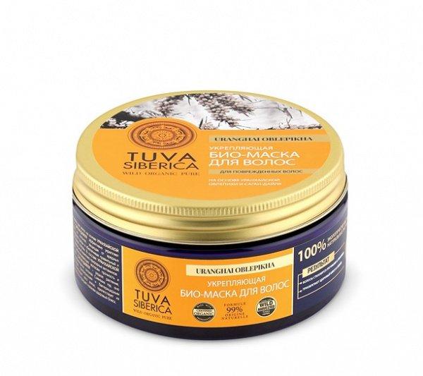 Укрепляющая маска для волос, Tuva Siberica, 300 мл, NATURA SIBERICA фото