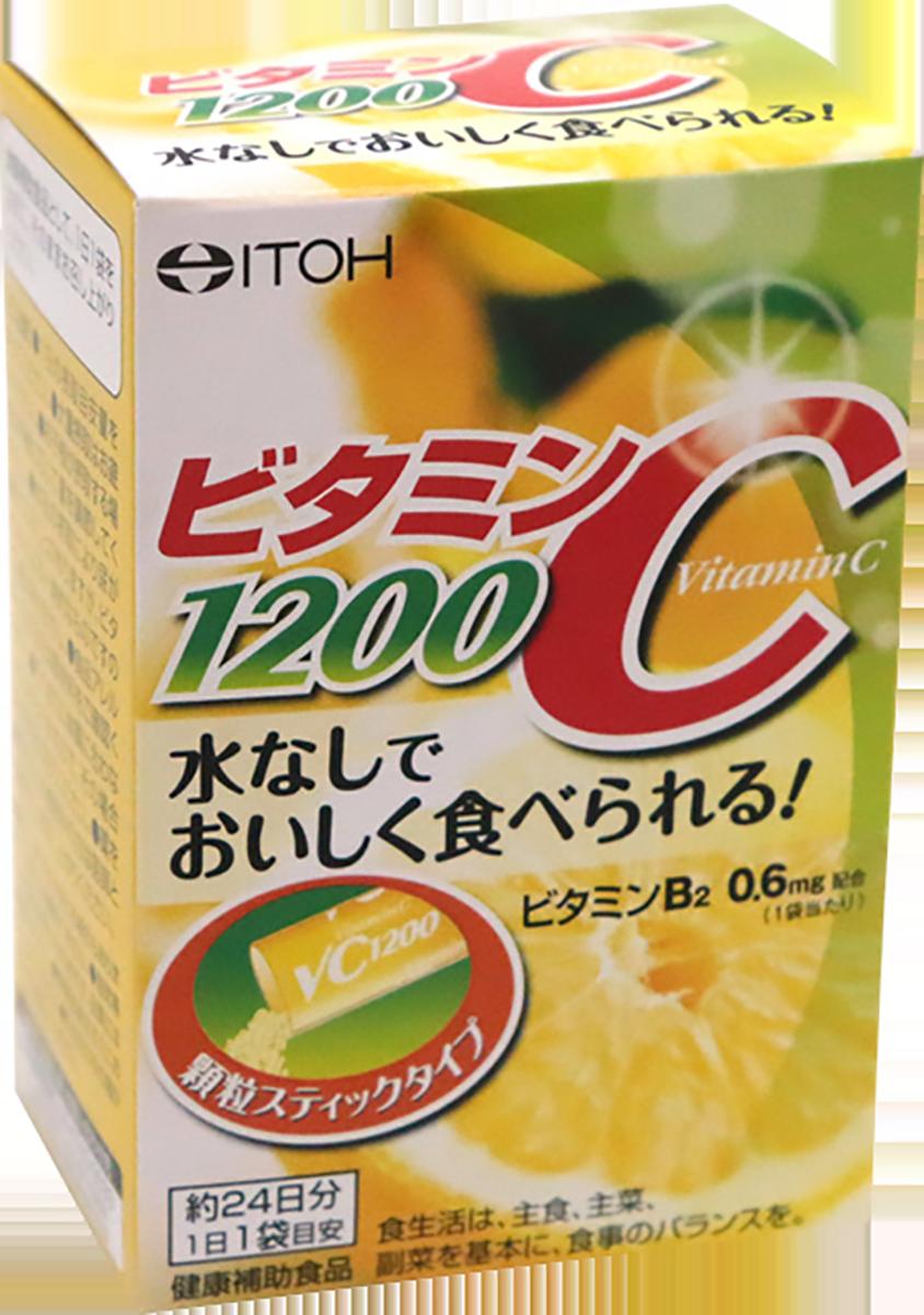 Витамин С, 1200 мг, 24 стика, ITOH