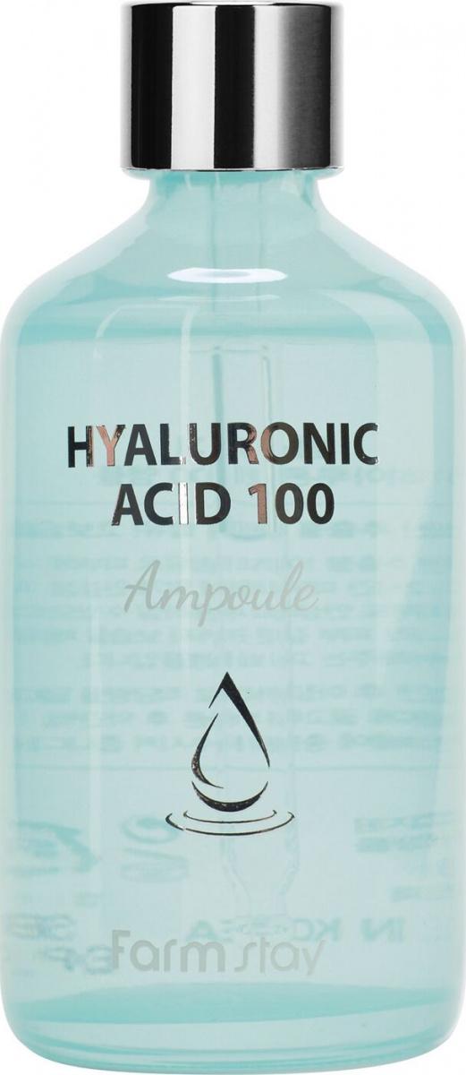 Ампульная сыворотка с гиалуроновой кислотой, 100 мл, FarmStay фото