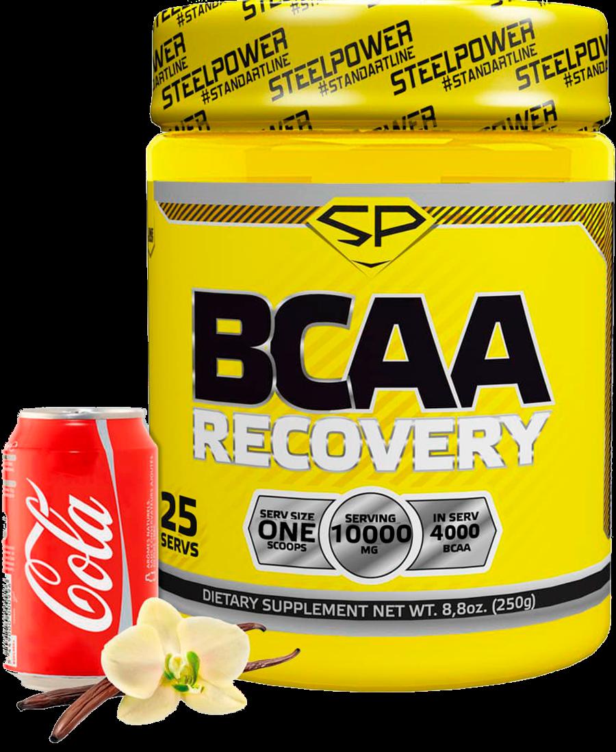 BCAA RECOVERY, вкус «Ваниль Кола», 250 гр, STEELPOWER фото