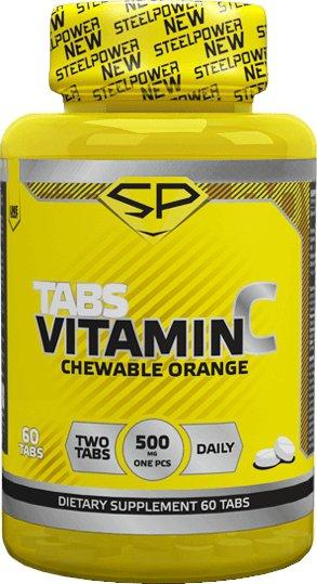 Купить со скидкой Витамин С (жевательный), 60 таблеток, STEELPOWER