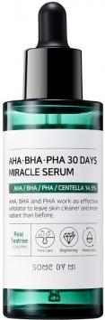Сыворотка с AHA/BHA/PHA кислотами для проблемной кожи, 50 мл, SOME BY MI фото