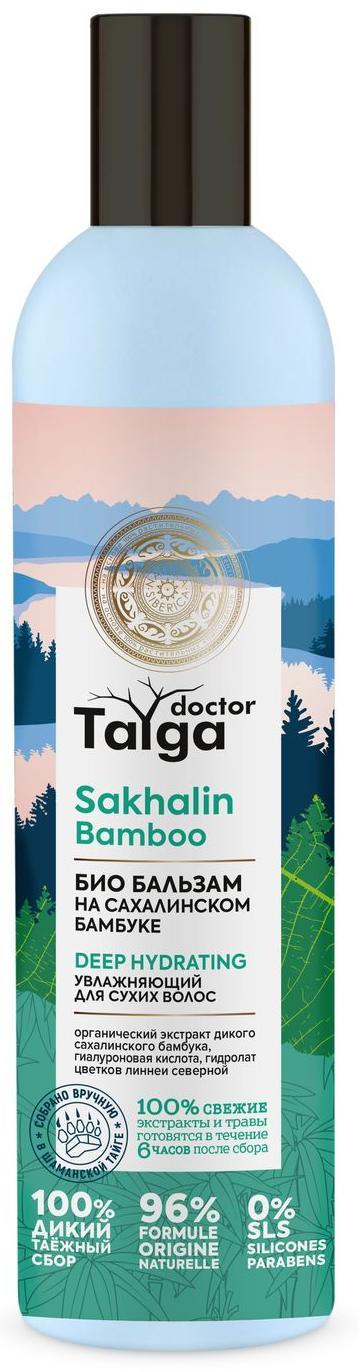 Увлажняющий бальзам Doctor Taiga для сухих волос, 400 мл, Natura Siberica
