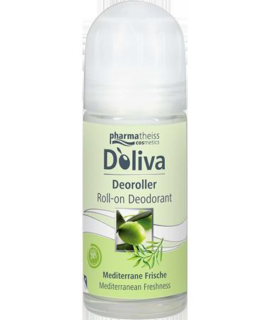 Роликовый дезодорант «Средиземноморская свежесть», 50 мл, Doliva фото