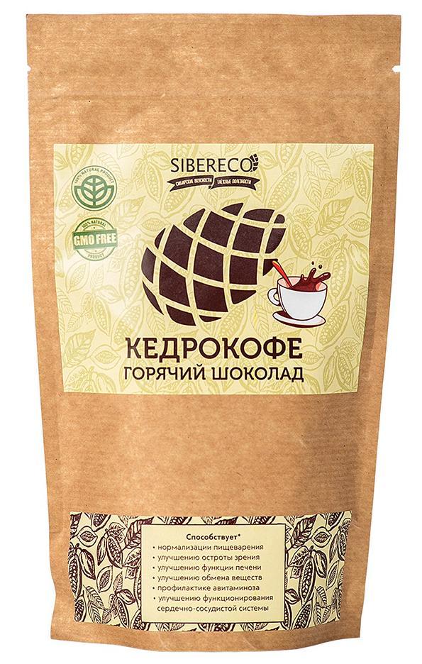 Кедрокофе Горячий шоколад, 250 гр, СИБЕРЕКО фото