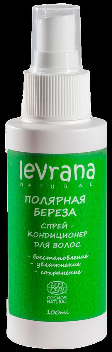Спрей-кондиционер для волос «Полярная берёза», тревел-версия, 100 мл, Levrana фото