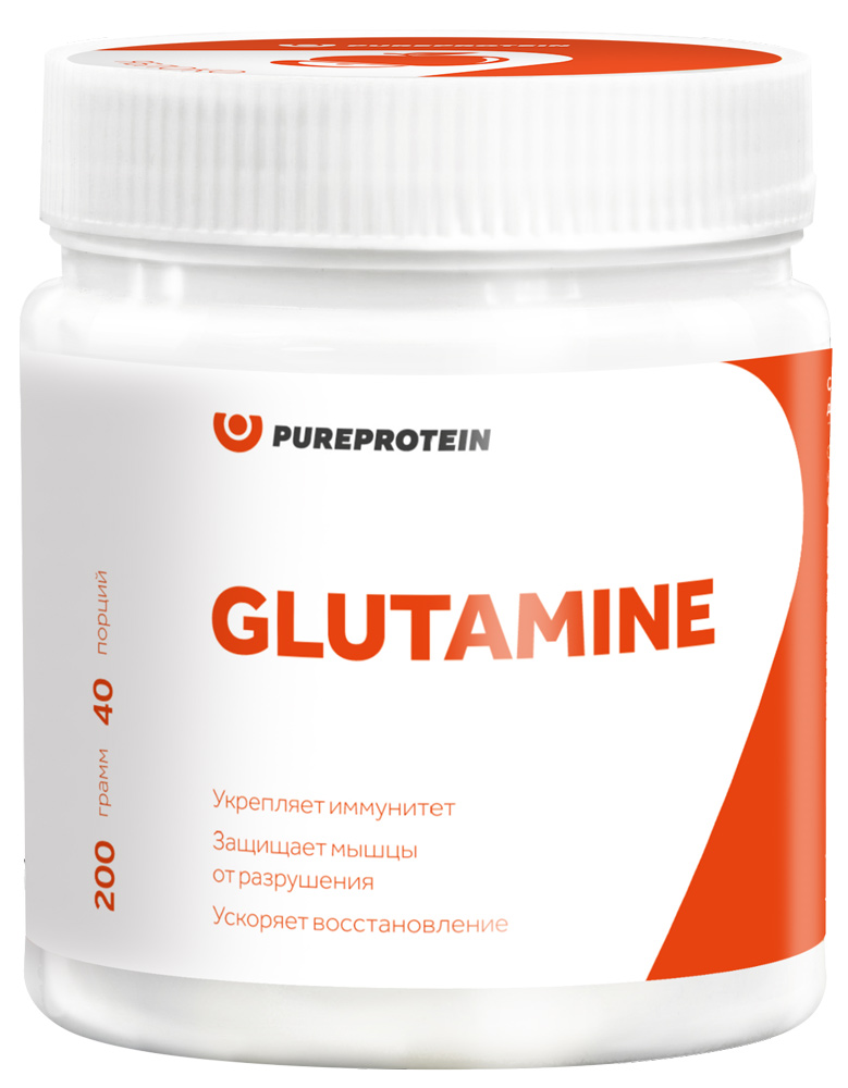 Глютамин, вкус «Лесные ягоды», 200 гр, Pure