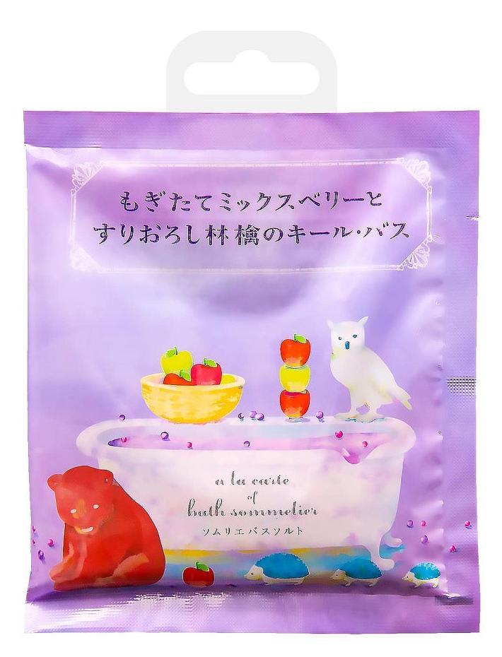 Соль для ванн расслабляющая с экстрактом яблока, Sommelier, 40 гр, CHARLEY фото