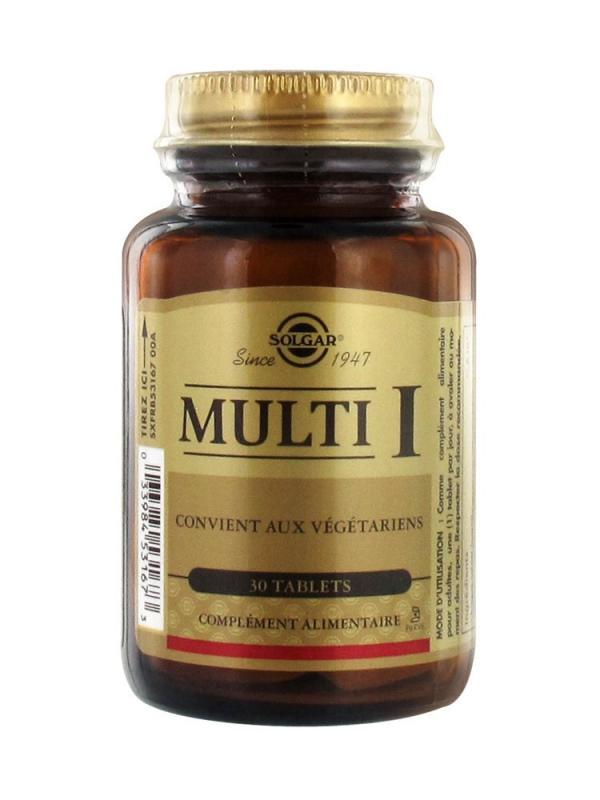 Мульти - I, 30 таблеток, Solgar