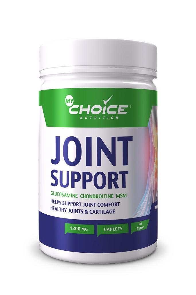 Купить со скидкой Глюкозамин, хондроитин, МСМ, 90 таблеток,  MyChoice Nutrition