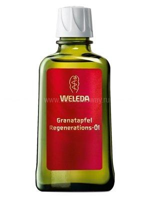 Гранатовое восстанавливающее масло для тела 100 мл, Weleda фото